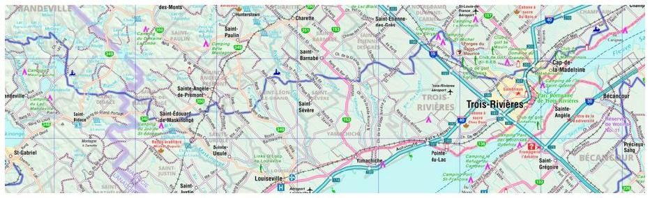 Canadian Cartographics city maps provincial regional street guide